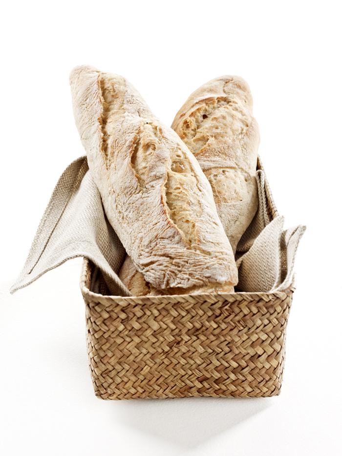 Pão branco farinha de trigo